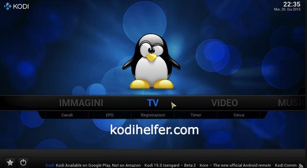 Download Kodi Fur LINUX