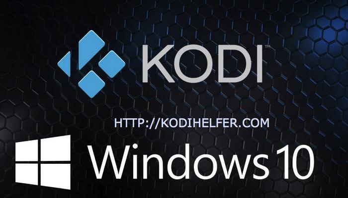 Herunterladen KODI for windows