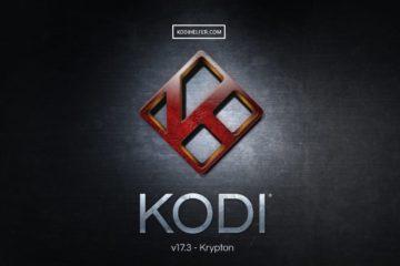 Télécharger KODI dernière version 17.3