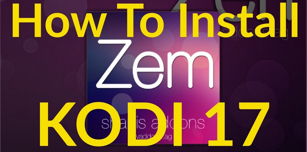 Install-Zem-KODI-Add-On