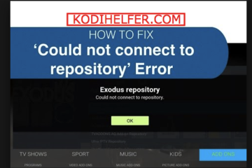 Exodus Repository Impossible de se connecter