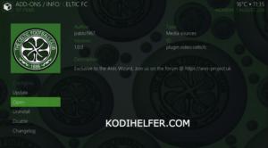 Celtic TV KODI