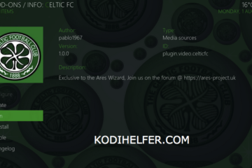 Celtic TV KODI