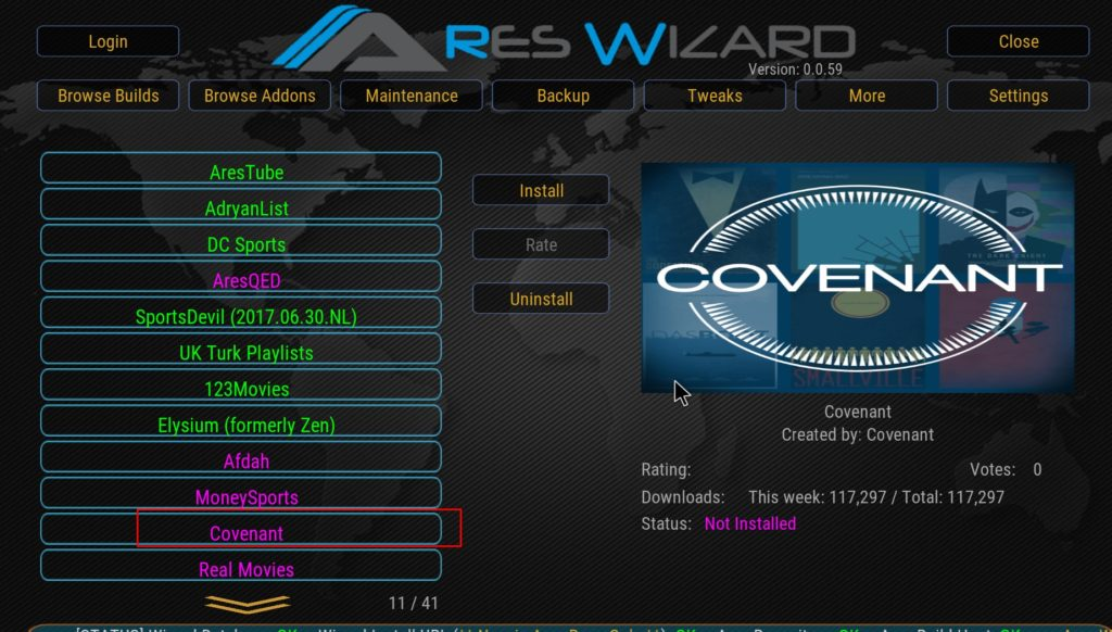 How to Install Covenant