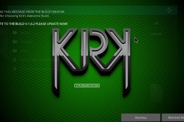 Kirk's BUILD KODI Builds 2017 CODE Krypton