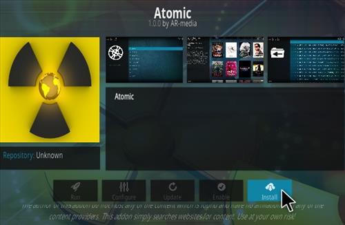 setup-atomic-addon auf kodi v17.6