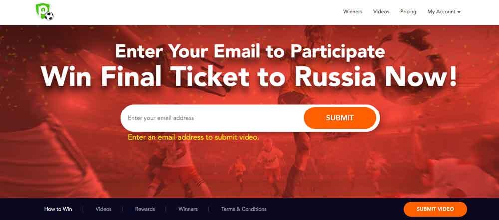 entradas gratis PureVPN para la Copa del Mundo