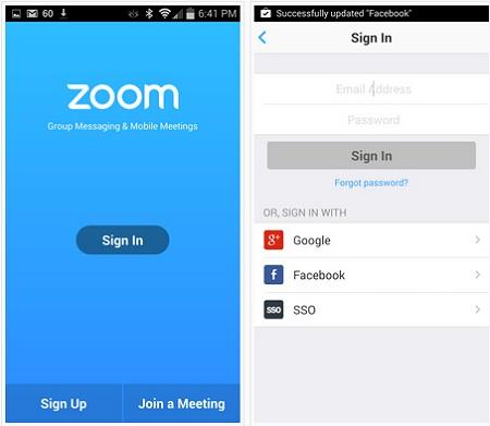 Zoom-Download für Windows